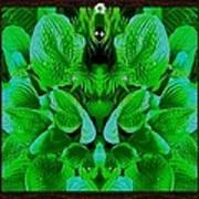 Creatures In The Green Fauna Art Print