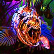 Creatures Of The Deep - Fear No Fish 5d24799 Square Art Print