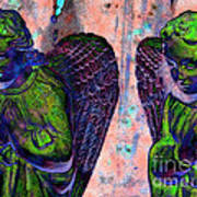Creche Angels 7 Art Print