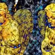 Creche Angels 8 Art Print