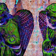 Creche Angels 9 Art Print