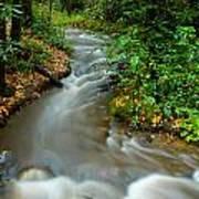 Creek After Big Storm Art Print