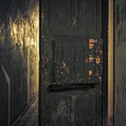 Creepy Door Art Print