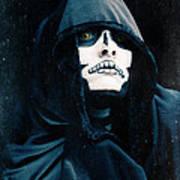 Creepy Skeleton Art Print