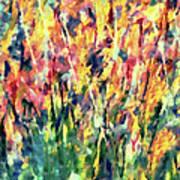 Crescendo Of Spring Abstract Art Print