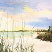 Crescent Beach Print by Shawn McLoughlin
