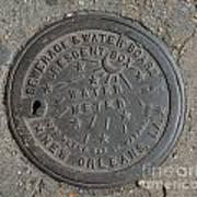 Crescent City Water Meter Art Print