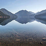 Crescent Lake Reflection Art Print by Pierre Leclerc Photography