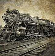 Crescent Limited Locomotive Of 1927 Art Print