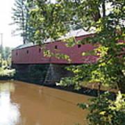Cresson Bridge Art Print