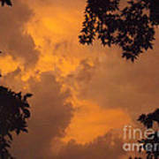 Cresting The Storm Clouds Art Print