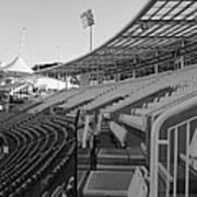 Cricket Pavilion Art Print