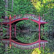Crim Dell Bridge In Summer Art Print
