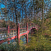 Crim Dell Bridge Spring Art Print