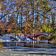 Crim Dell In Winter William And Mary Art Print