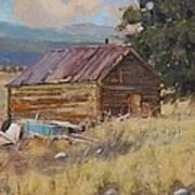 Cripple Creek Cabin Art Print