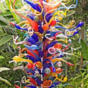 Cristal Garden 2 Art Print