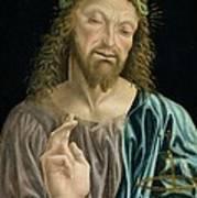 Cristo Salvator Mundi, C.1490-94 Art Print