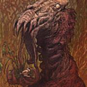 Croakjaw  Art Print by Ethan Harris