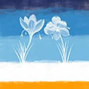 Crocus Flower Art Print