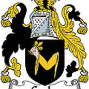 Croke Coat Of Arms Irish Art Print