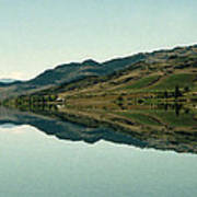 Cromwell Dam Reflections Art Print