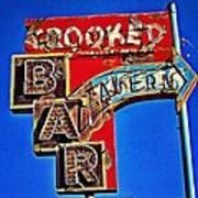 Crooked Bar And Tavern Art Print