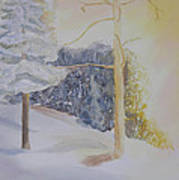 Crooked Creek Morning Light Art Print