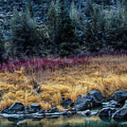Crooked River At Smith Rock Art Print