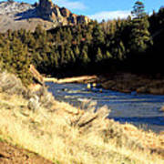 Crooked River December Morning Art Print