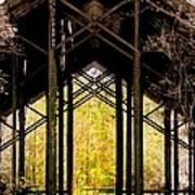 Crosby Arboretum Open Air Outdoor Pavillion Art Print