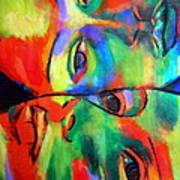 Cross-circuiting Emotions Art Print