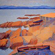 Cross' Coast Near Antibes Art Print