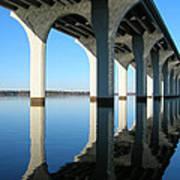 Cross Lake Bridge 2 Art Print