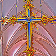 Cross Of Church Of Our Lady Art Print
