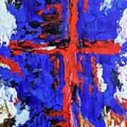 Cross Of The Patriot Art Print