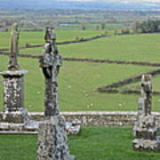 Crosses Of Cashel Art Print