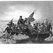 Crossing The Delaware Art Print by Granger