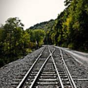 Crossing Tracks Art Print