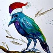 Crow Ho Ho Art Print