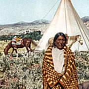 Crow Indian 1902 Art Print