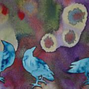 Crow Series 6 Print by Helen Klebesadel
