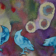 Crow Series 6 Art Print