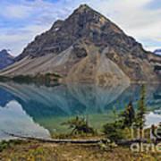 Crowfoot Mountain Banff Np Art Print