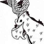 Crowned Dragon Art Print