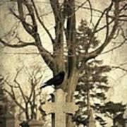 Crow's Cross Art Print