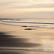 Croyde At Dusk Art Print