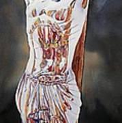 Crucifijo En Plata Art Print
