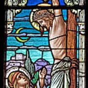 Crucifixion Of Christ Art Print by Mountain Dreams