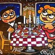 Cruise Gala Dinner Art Print